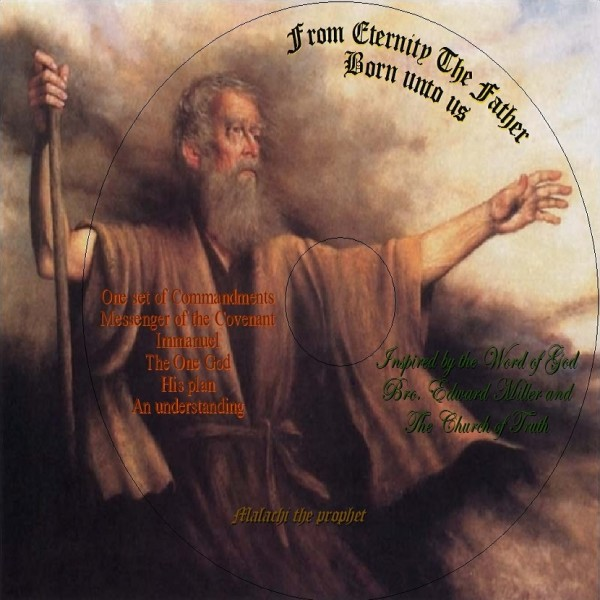 Picture of From Eternity The Father Born unto us CD cover