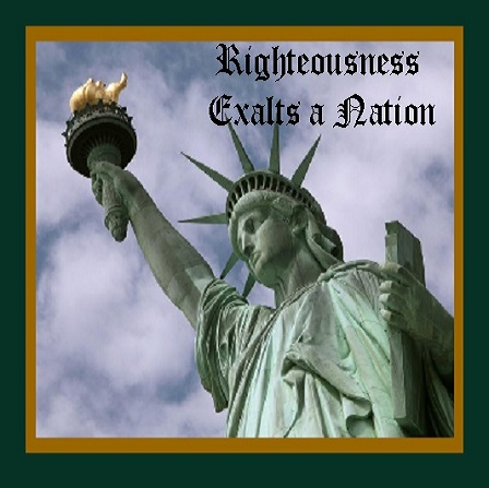 Picture of Righteousness Exalts a Nation