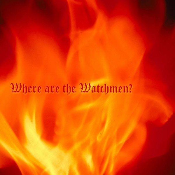 Picture of Where are the Watchmen CD Cover